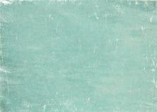 Fundo velho ou textura do papel verde Imagem de Stock Royalty Free