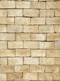 Fundo velho vermelho da parede de tijolo Imagem de Stock