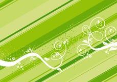 Fundo verde Foto de Stock Royalty Free