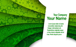 Fundo verde abstrato Fotografia de Stock Royalty Free