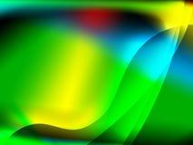 Fundo verde abstrato Imagens de Stock
