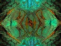 Fundo verde abstrato Imagem de Stock