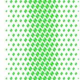 Fundo verde abstrato com formas do diamante Teste padrão sem emenda do rombo Ilustração do vetor Imagem de Stock Royalty Free