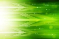 Fundo verde abstrato da tecnologia. Imagem de Stock Royalty Free