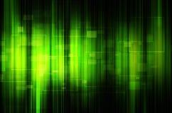 Fundo verde abstrato da tecnologia Imagens de Stock Royalty Free