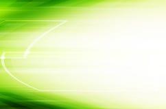 Fundo verde abstrato da tecnologia Fotografia de Stock