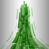 Fundo verde abstrato da tecnologia dos elementos Foto de Stock Royalty Free