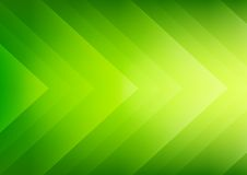 Fundo verde abstrato das setas do eco Imagem de Stock Royalty Free