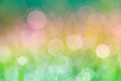 Fundo verde abstrato do bokeh Foto de Stock Royalty Free