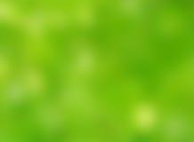 Fundo verde abstrato do bokeh do borrão da natureza do outono imagens de stock royalty free