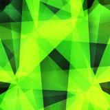 Fundo verde abstrato Ilustração do vetor Fotos de Stock
