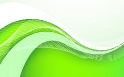 Fundo verde abstrato Ilustração do vetor Imagens de Stock Royalty Free
