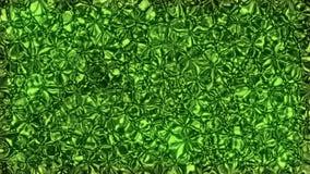 Fundo verde animado abstrato video estoque