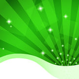 Fundo verde bonito ilustração royalty free