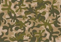 Fundo verde da ilustração da camuflagem Imagem de Stock