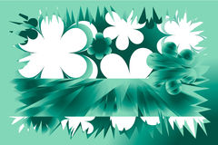 Fundo verde da mola Imagens de Stock Royalty Free