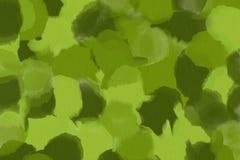 Fundo verde da pintura do tom Fotografia de Stock Royalty Free