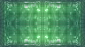 Fundo verde da sala do mosaico vídeos de arquivo