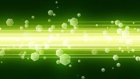 Fundo verde da tecnologia Imagens de Stock Royalty Free