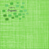 Fundo verde da textura de pano Capa do livro tela Fotografia de Stock Royalty Free