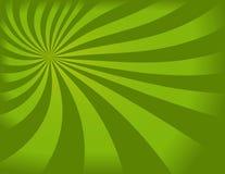 Fundo verde de Swirly ilustração do vetor