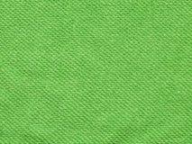 Fundo verde de toalha Fotos de Stock Royalty Free