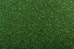 Fundo verde do Glitter Imagem de Stock