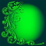 Fundo verde do inverno Imagem de Stock Royalty Free