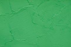 Fundo verde do muro de cimento fotografia de stock royalty free