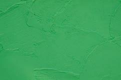 Fundo verde do muro de cimento foto de stock