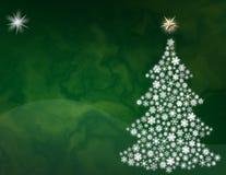 Fundo verde do Natal Imagem de Stock Royalty Free