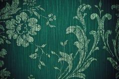 Fundo verde do sumário da flor imagem de stock royalty free