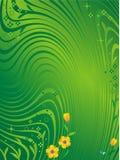 Fundo verde do sumário da natureza Imagens de Stock Royalty Free