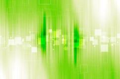 Fundo verde do sumário da tecnologia Fotografia de Stock Royalty Free