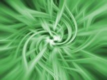Fundo verde do twirl Imagem de Stock