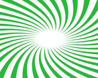 Fundo verde do vetor do Twirl Fotos de Stock