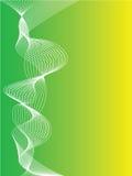 Fundo verde e amarelo abstrato Fotos de Stock