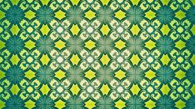 Fundo verde e amarelo do papel de parede ilustração do vetor