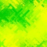 Fundo verde e amarelo do pulso aleatório Ilustração Royalty Free