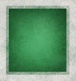 Fundo verde e branco Foto de Stock