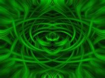 Fundo verde e preto da pirueta Imagem de Stock
