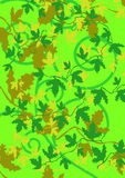 Fundo verde frondoso Imagens de Stock