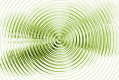 Fundo verde hipnótico abstrato Imagens de Stock Royalty Free