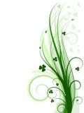 Fundo verde (incl do vetor) Fotos de Stock Royalty Free