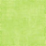 Fundo verde macio do Scrapbook Imagem de Stock