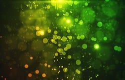 Fundo verde manchado Imagens de Stock Royalty Free