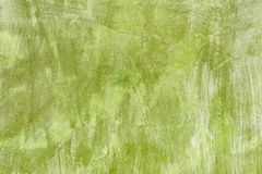 Fundo verde pintado do muro de cimento Imagem de Stock