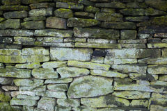 Fundo verde sujo da parede de pedra Foto de Stock Royalty Free