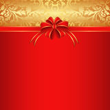 Fundo vermelho Fotos de Stock Royalty Free