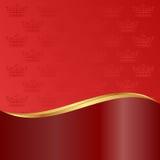 Fundo vermelho Imagens de Stock